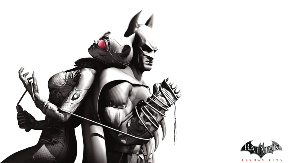 Batman Catwoman Arkham City PS Vita Wallpaper