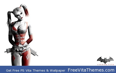 Harley Quinn Arkham City PS Vita Wallpaper