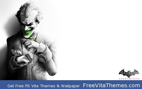 Joker Arkham City PS Vita Wallpaper