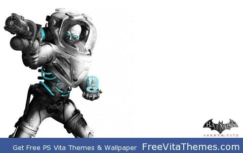 Mr. Freeze Arkham City PS Vita Wallpaper