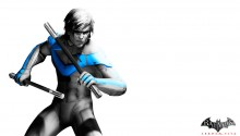 Download Nightwing Arkham City PS Vita Wallpaper