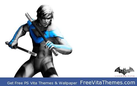 Nightwing Arkham City PS Vita Wallpaper