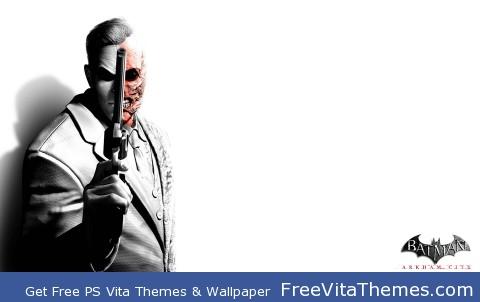 Two-Faces Arkham City PS Vita Wallpaper