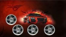 Download Audi R8 PS Vita Wallpaper
