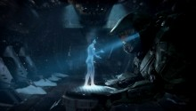 Download Halo 4 Master Chief and Cortana PS Vita Wallpaper