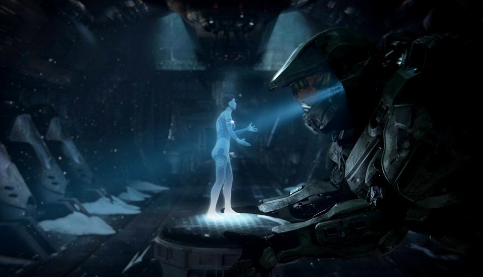Halo 4 Master Chief And Cortana PS Vita Wallpaper