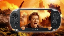 Download Doctor Who: The Tenth Doctor PS Vita Wallpaper