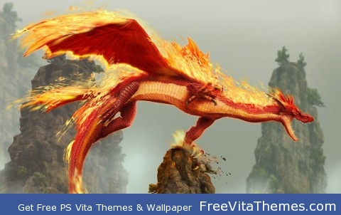 Fire Dragoon PS Vita Wallpaper