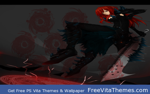 Erza Scarlet PS Vita Wallpaper