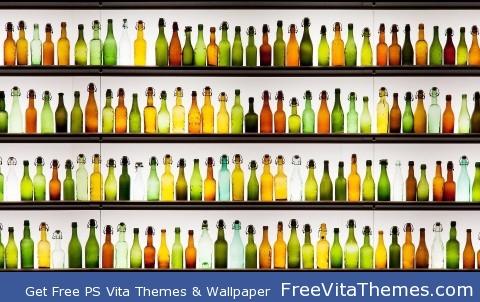bouteilles PS Vita Wallpaper