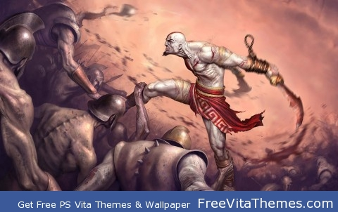 God of War PS Vita Wallpaper