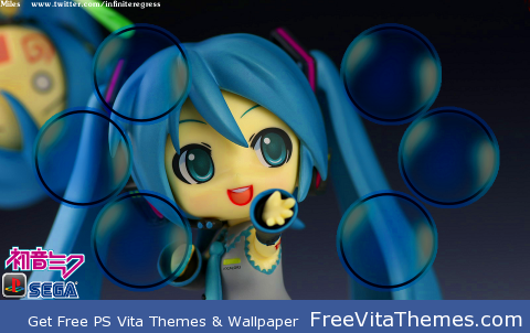 Hatsune Miku Nendoroid PS Vita Wallpaper