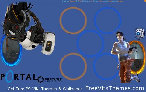 Portal 'Dynamic' Wallpaper PS Vita Wallpaper