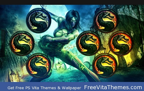 Mortal Kombat PS Vita Wallpaper