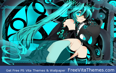 Miku Hatsune PS Vita Wallpaper