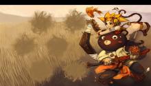 Download Monkey Queen PS Vita Wallpaper