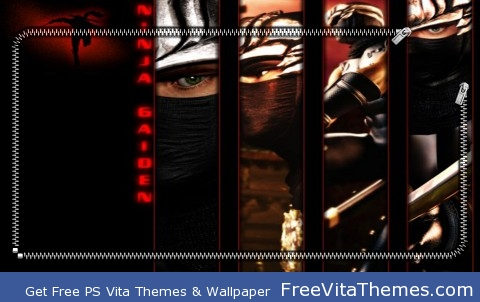 Ninja Gaiden Lock Screen PS Vita Wallpaper
