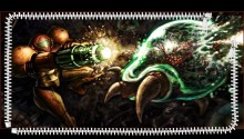 Download Samus & Metroid ZIP PS Vita Wallpaper
