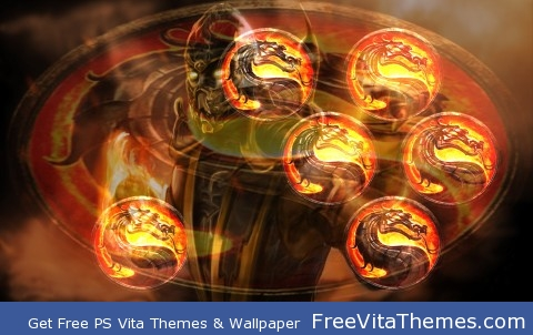 Scorpion2 PS Vita Wallpaper