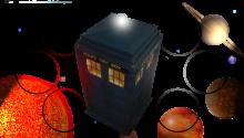 Download Doctor Who TARDIS 'Dynamic' Wallpaper PS Vita Wallpaper
