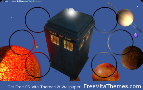 Doctor Who TARDIS 'Dynamic' Wallpaper PS Vita Wallpaper