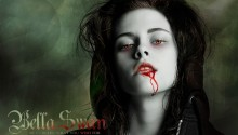 Download Twilight Saga Bella Vampire PS Vita Wallpaper