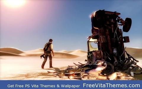 Uncharted 3 PS Vita Wallpaper