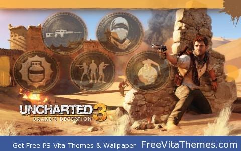 Uncharted 3 Epic PsVita PS Vita Wallpaper