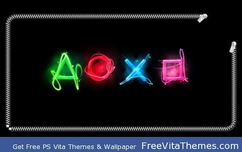 buttons zip PS Vita Wallpaper