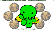 Download Cthulhu 'Dynamic' Wallpaper PS Vita Wallpaper