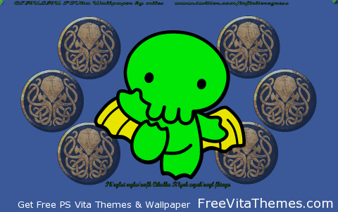 Cthulhu 'Dynamic' Wallpaper PS Vita Wallpaper