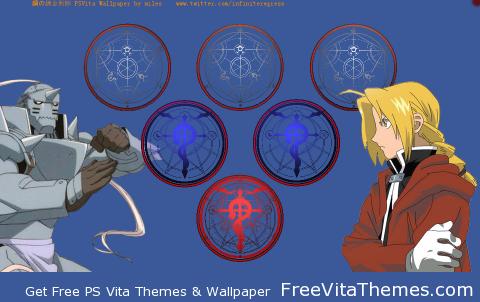 Fullmetal Alchemist 'Dynamic' Wallpaper PS Vita Wallpaper