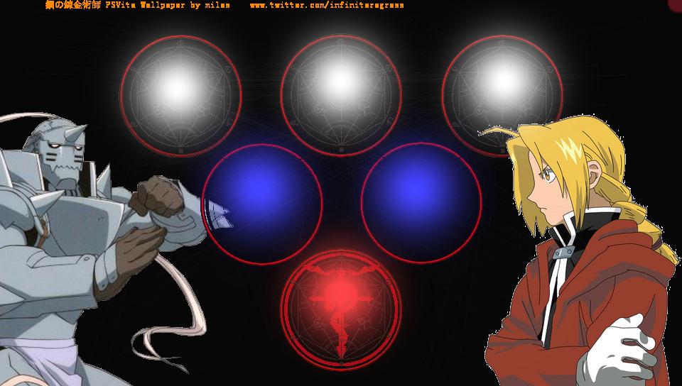 Fullmetal Alchemist Dynamic Wallpaper Ps Vita Wallpapers Free Ps Vita Themes And Wallpapers