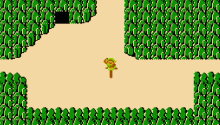Download The Legend of Zelda No HUD NES PS Vita Wallpaper
