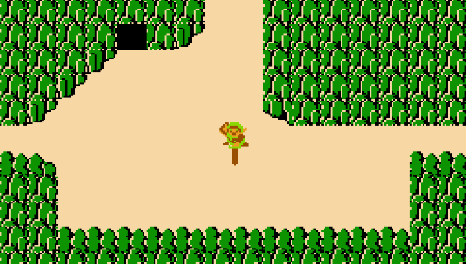 The Legend of Zelda No HUD NES PS Vita Wallpapers - Free PS Vita ...