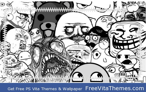 Memes ZIP 2 PS Vita Wallpaper