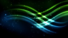 Download Waves Colors PS Vita Wallpaper