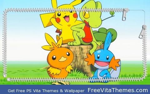 starter pokemon PS Vita Wallpaper