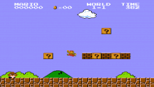 Download Super Mario Bros. NES PS Vita Wallpaper