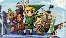 Download Zelda Wind Waker ZIP PS Vita Wallpaper