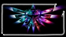 Download winged triforce PS Vita Wallpaper