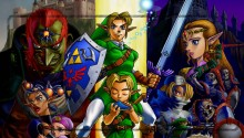 Download Zelda Ocarina of Time ZIP PS Vita Wallpaper
