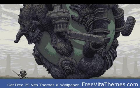 Shadow of the Katamari PS Vita Wallpaper