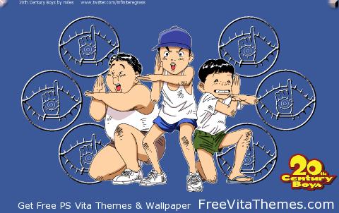 Nijusseiki Shōnen 'Dynamic' Wallpaper PS Vita Wallpaper