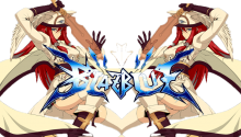 BlazBlue Transparent - Cross