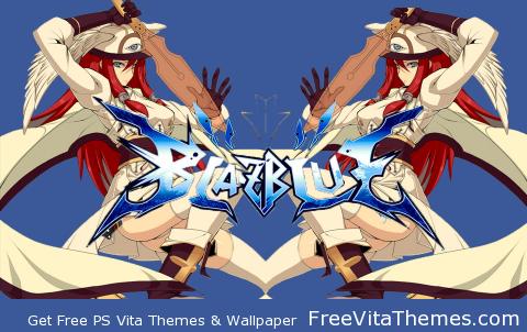 Transparent/Dynamic BlazBlue Continnum Shift II Extend – Cross PS Vita Wallpaper