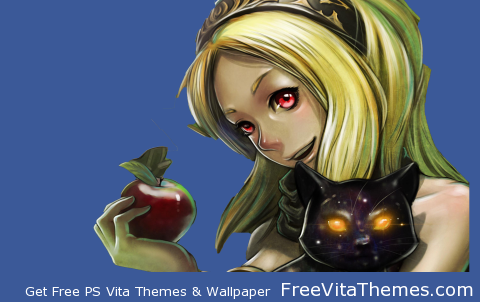 Transparent/Dynamic|Gravity Daze/Rush – Kat Portrait PS Vita Wallpaper