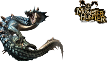 Download Transparent/Dynamic|Monster Hunter Lagiacrus PS Vita Wallpaper