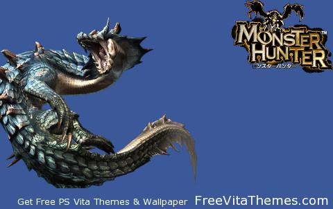Transparent/Dynamic|Monster Hunter Lagiacrus PS Vita Wallpaper
