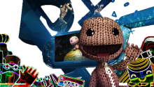 Download Transparent/Dynamic|LittleBigPlanet – Dynamic Glow PS Vita Wallpaper